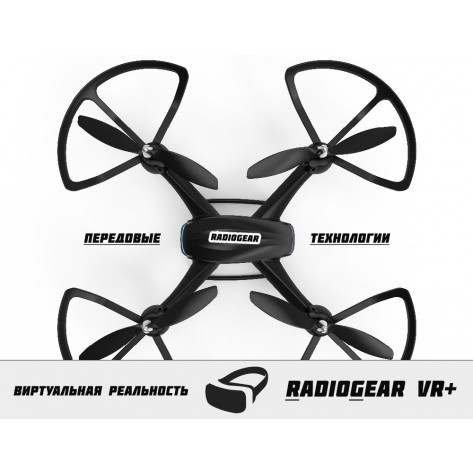 RadioGear VR 380 HD+ Wifi FPV iOS / Android