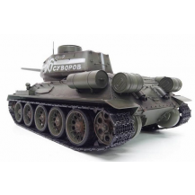 Taigen Russia T34-85 HC 1:16 - танковый бой